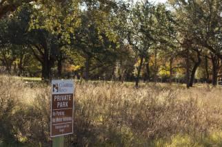 15 Acre creekside park
