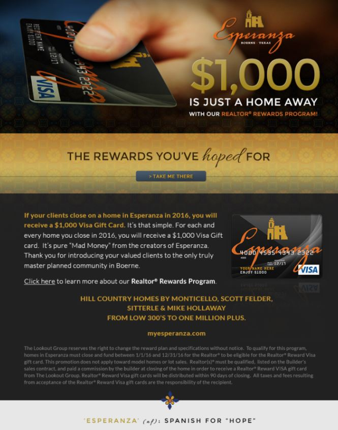 Realtor Rewards